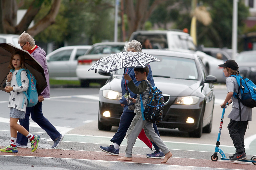 Auckland is one of several places in New Zealand that have had a wetter-than-normal year. Photo...