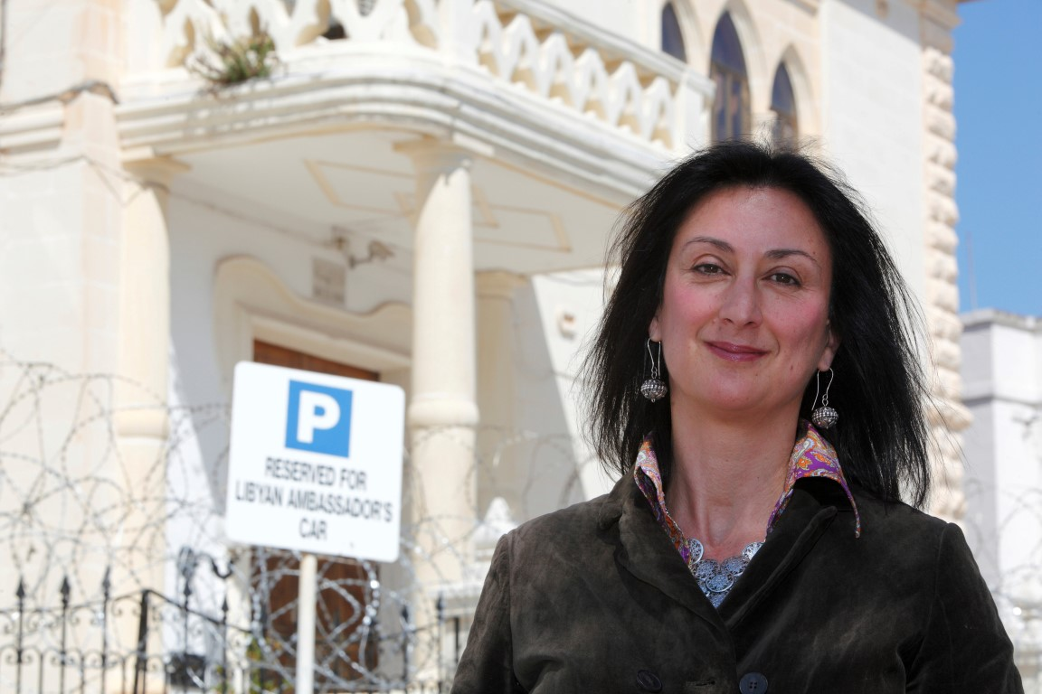Daphne Caruana Galizia. Photo: Reuters