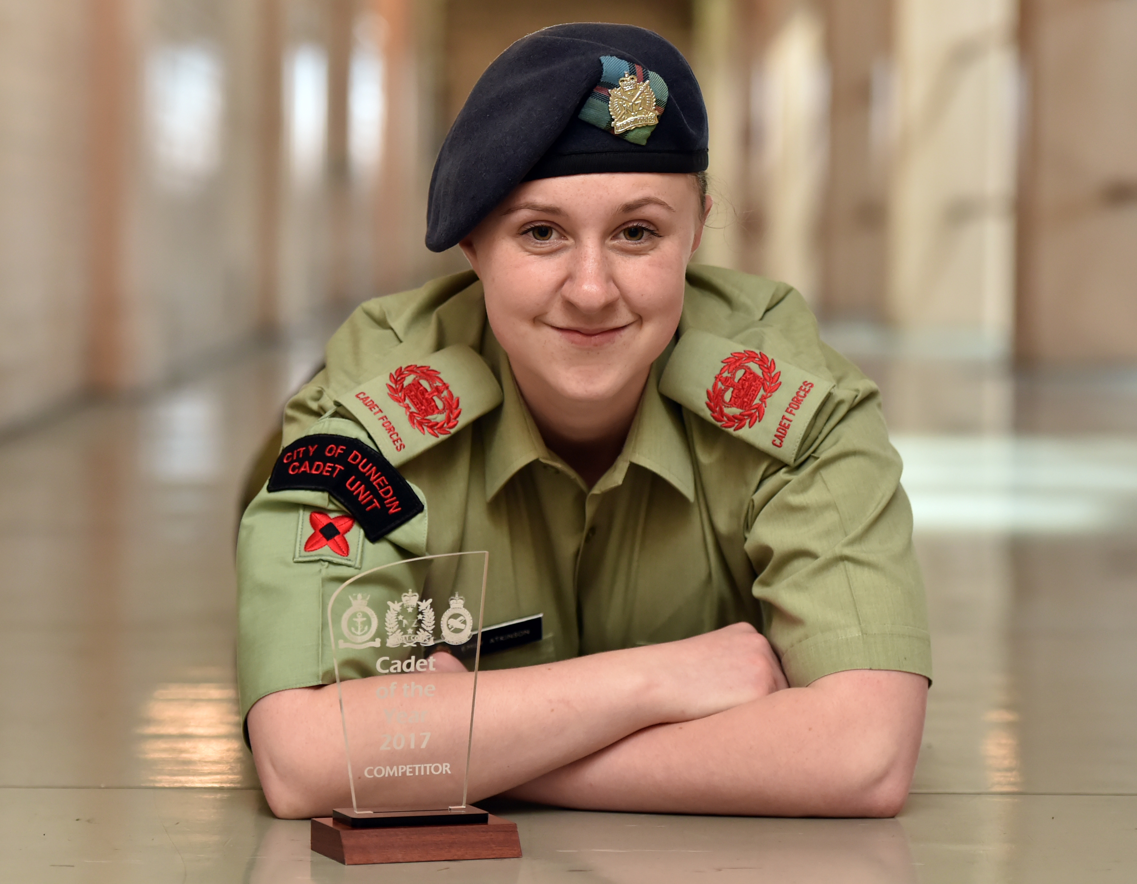 OGHS pupil named forces cadet of year | Otago Daily Times