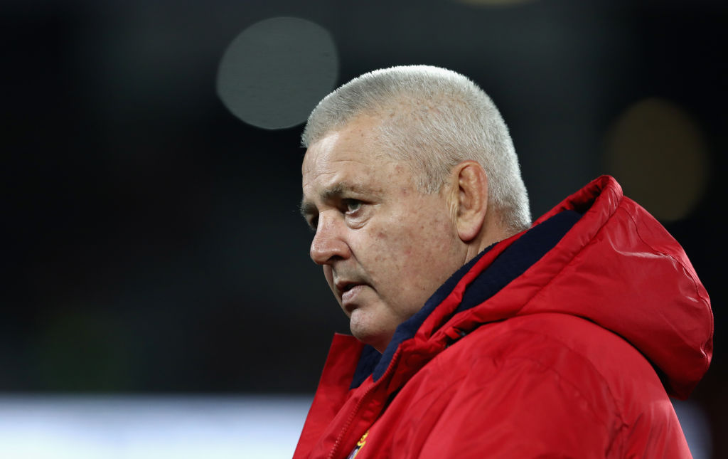 Gatland quits Lions, says he hated NZ tour