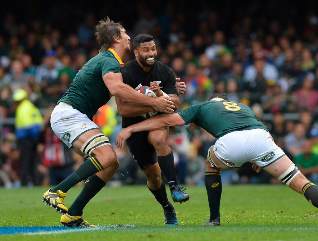Lima Sopoaga was one of several All Blacks who were noticeably sluggish against South Africa at...