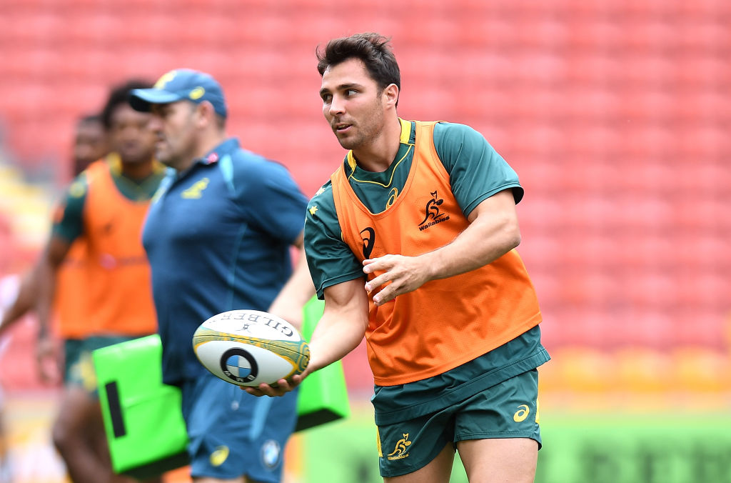 Nick Phipps will lead the Wallabies against the Barbarians. Photo Getty