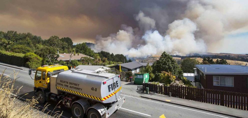 Insurer sues companies over Port Hills fires
