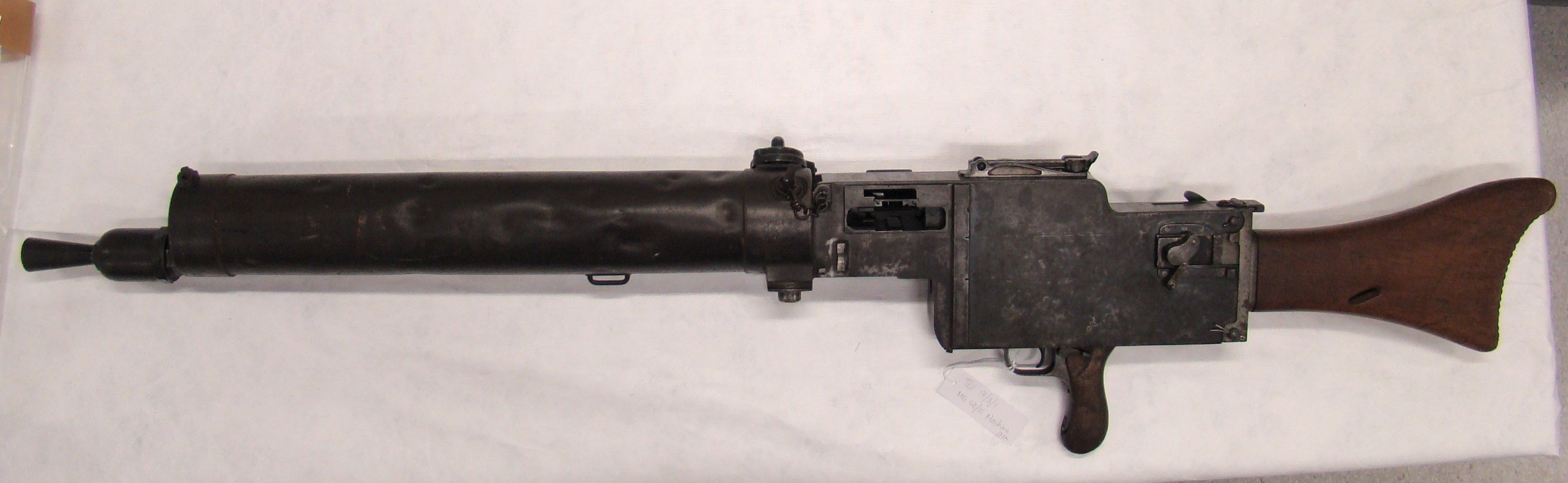 MG08/15 German machine-gun on loan to Toitu Otago Settlers Museum from a private collection....