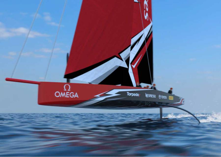 Team NZ reveal new America's Cup boat