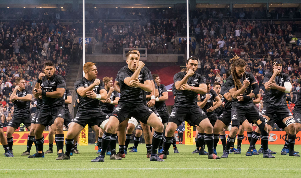 The Maori All Blacks recorded one win and one loss on their short tour. Photo Getty