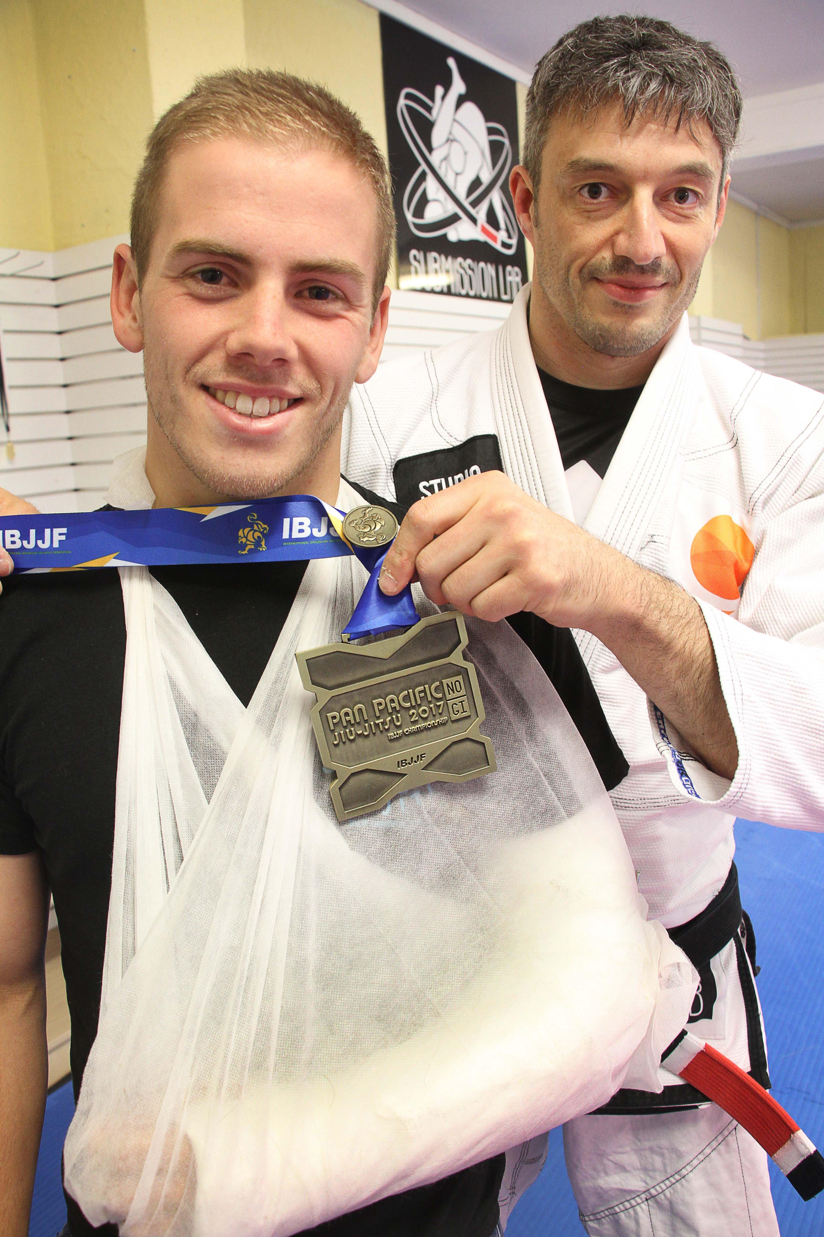 Bronze medal won despite broken arm | Otago Daily Times Online News