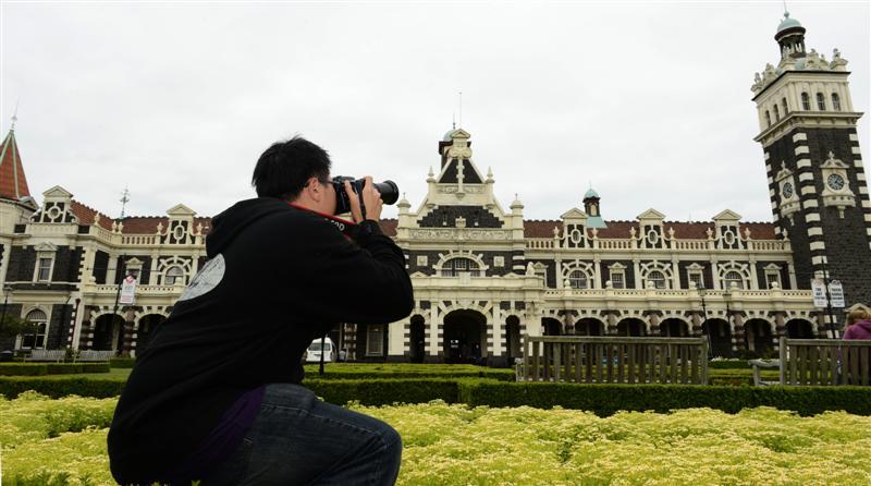 Dunedin's Railway Station is on the list of significant Otago landmarks.