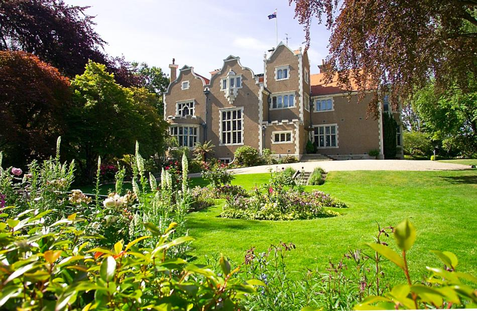 Olveston House, one of the 12 sites on the list.