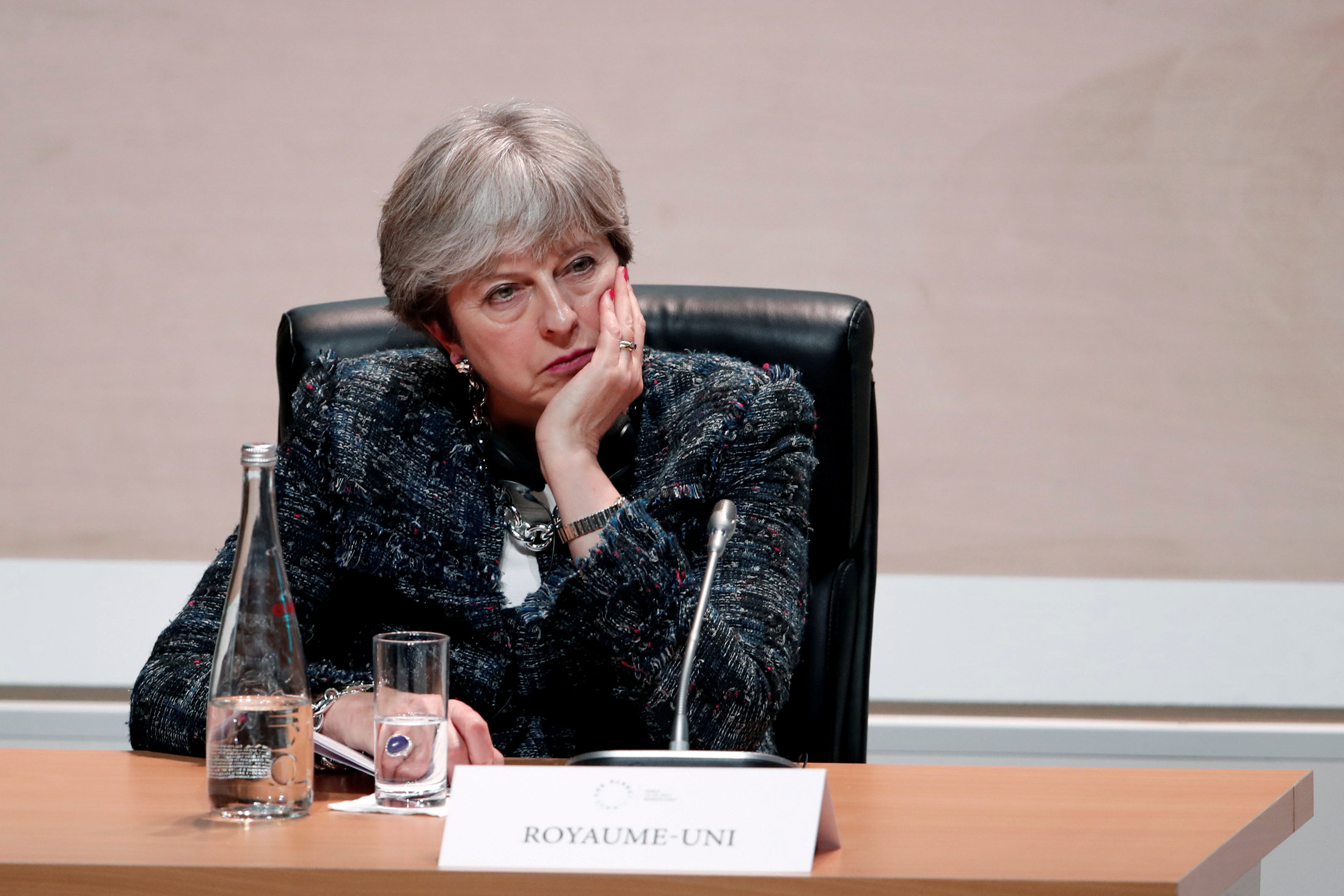 May defeated over Brexit blueprint
