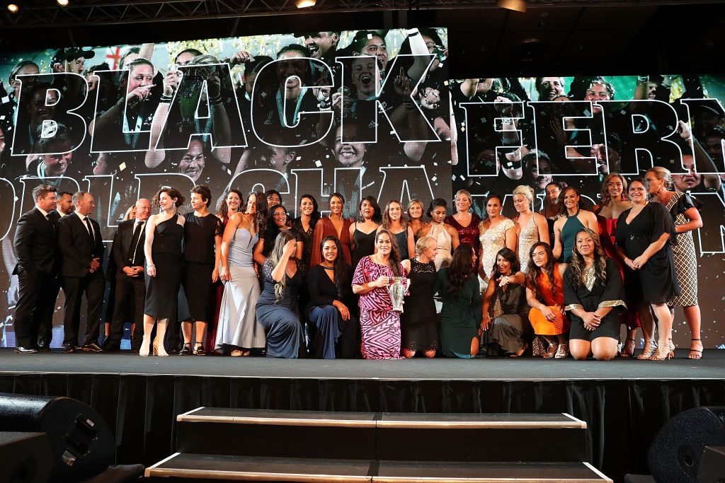 Black Ferns clean up at rugby awards