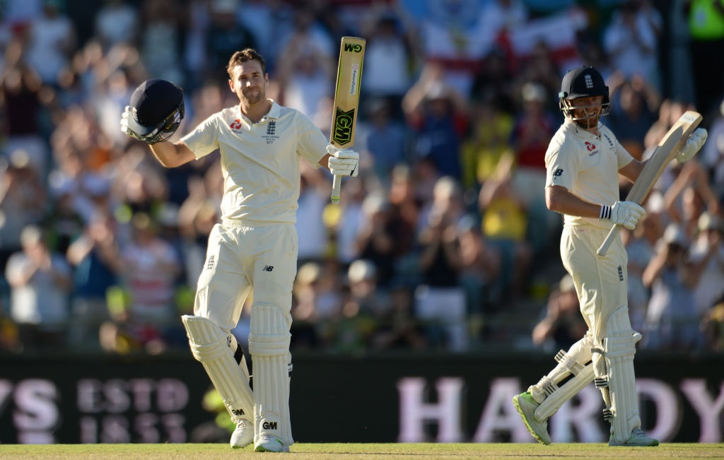 Malan helps England to strong position