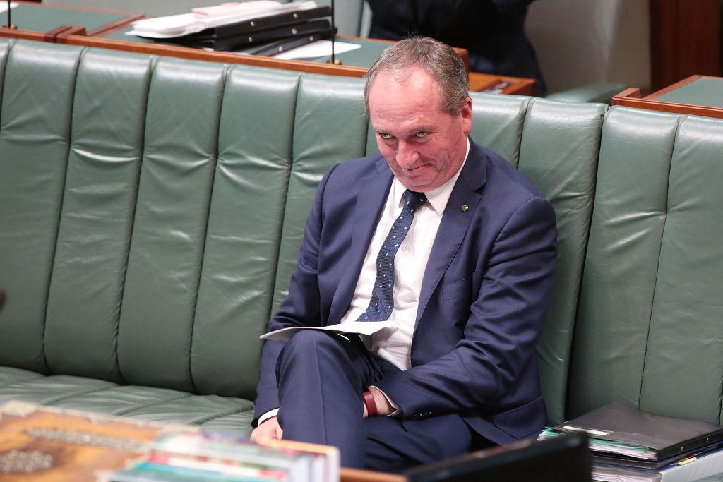 Barnaby Joyce. Photo: Getty