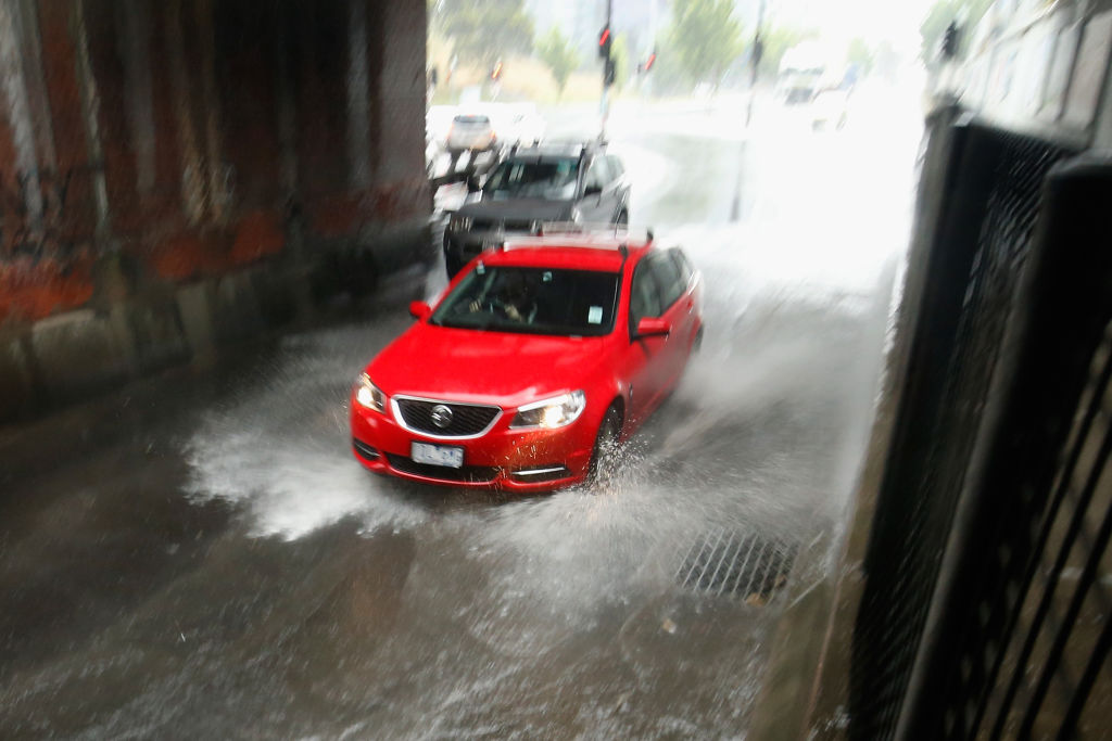 The Bureau of Meteorology is predicting Melbourne could get one month's worth of rain in just two...