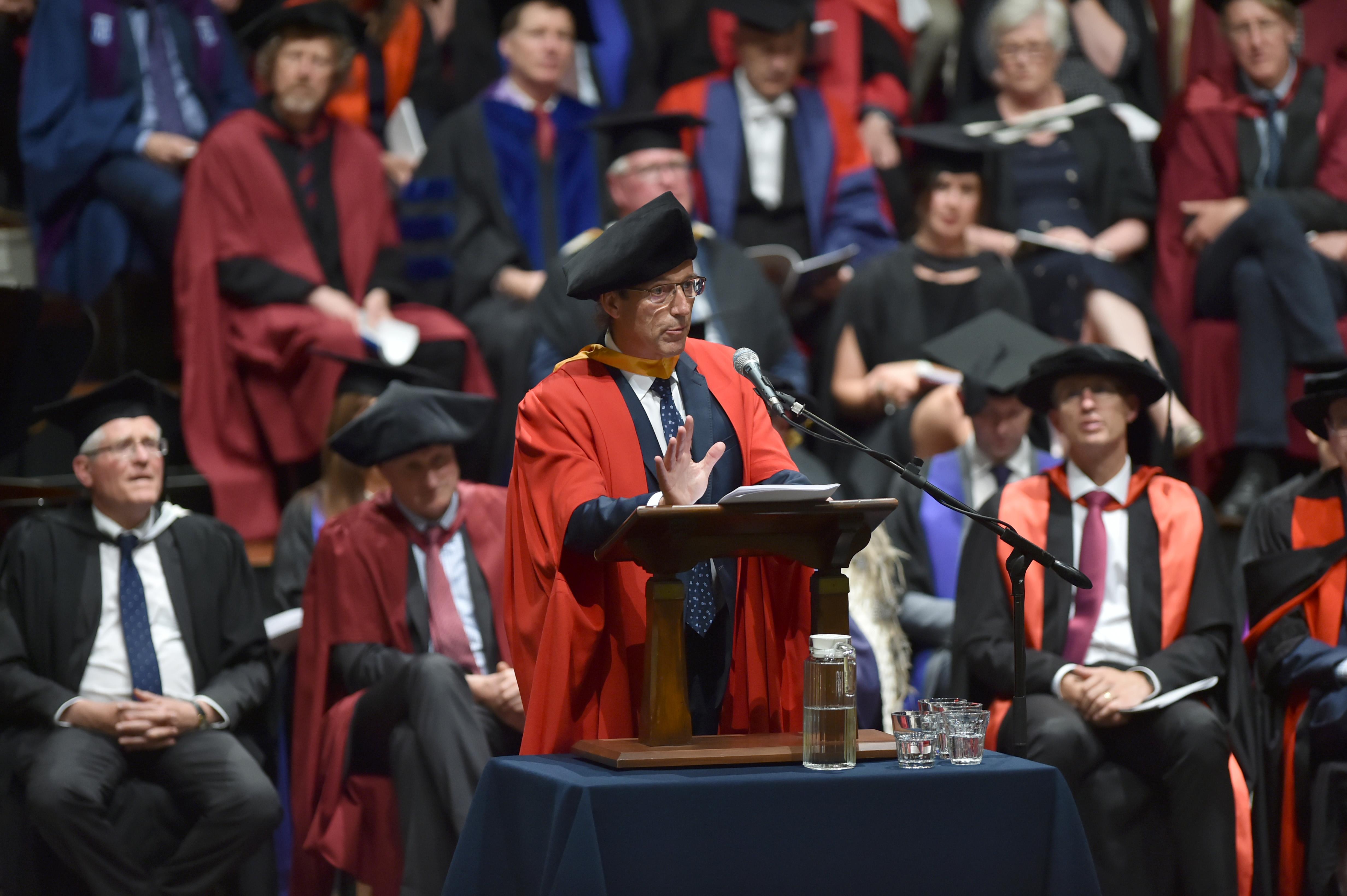 Hart-felt career advice for graduates