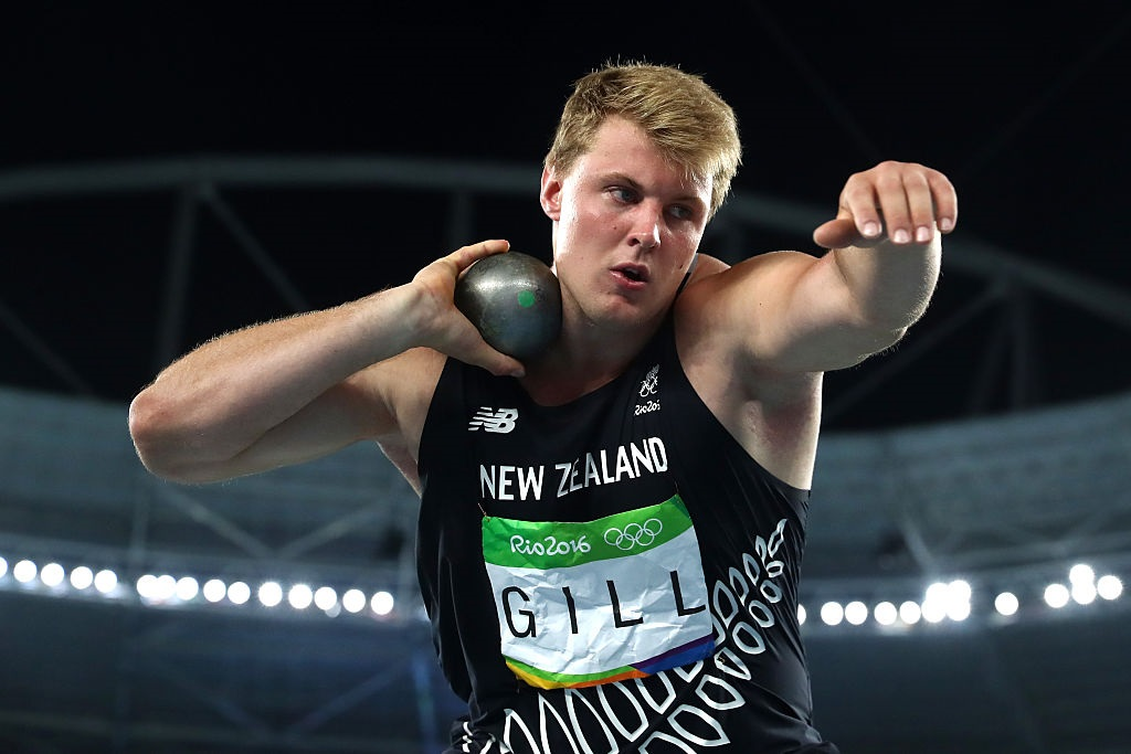 Heart scare for Olympian Jacko Gill