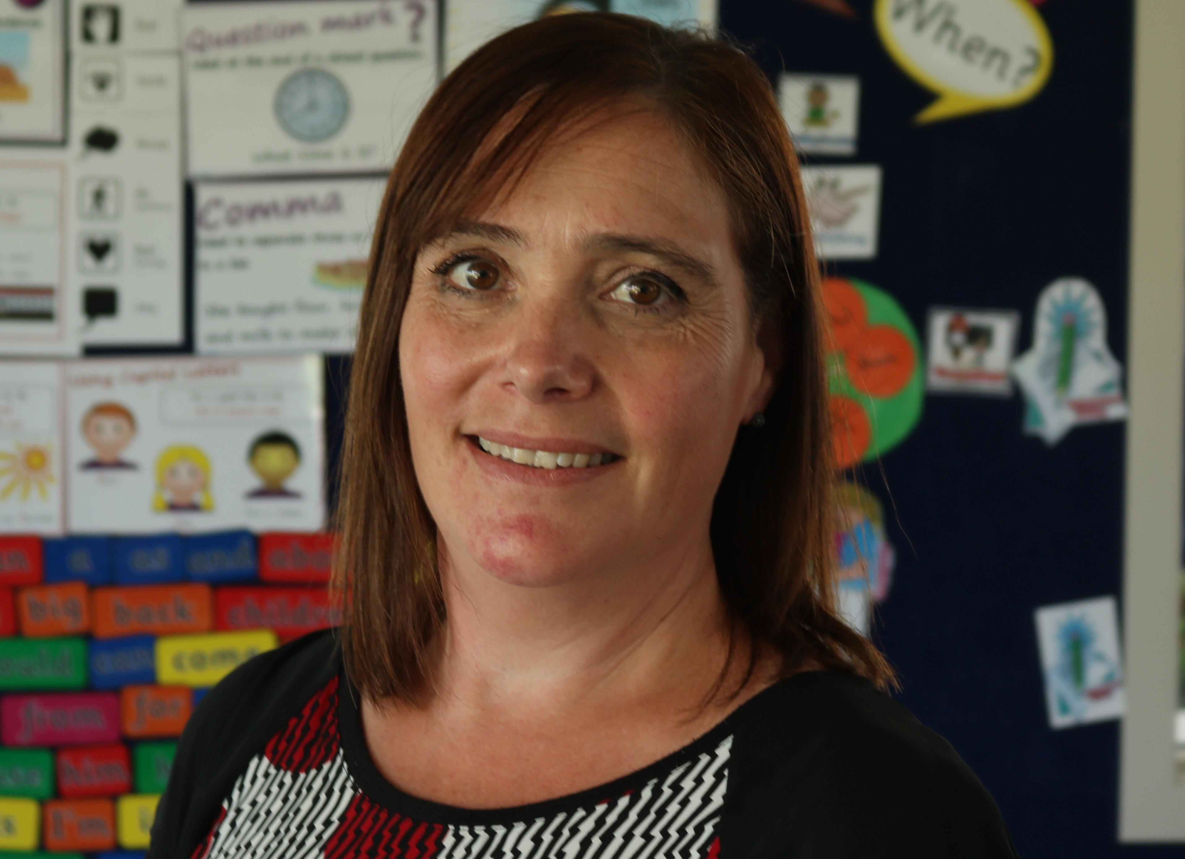 New principal glad to take over school in good heart