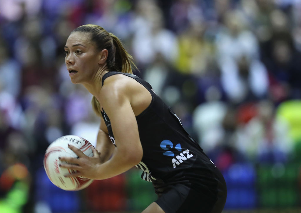 New Zealand's Grace Kara was named player of the match. Photo Getty