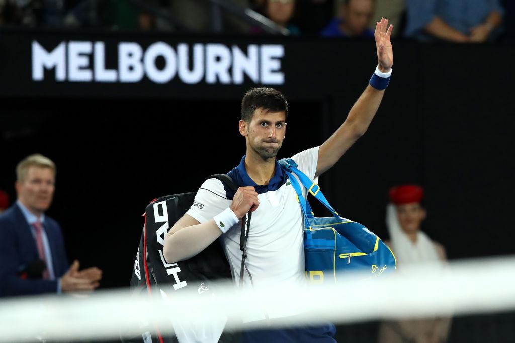 Djokovic out of Australian Open