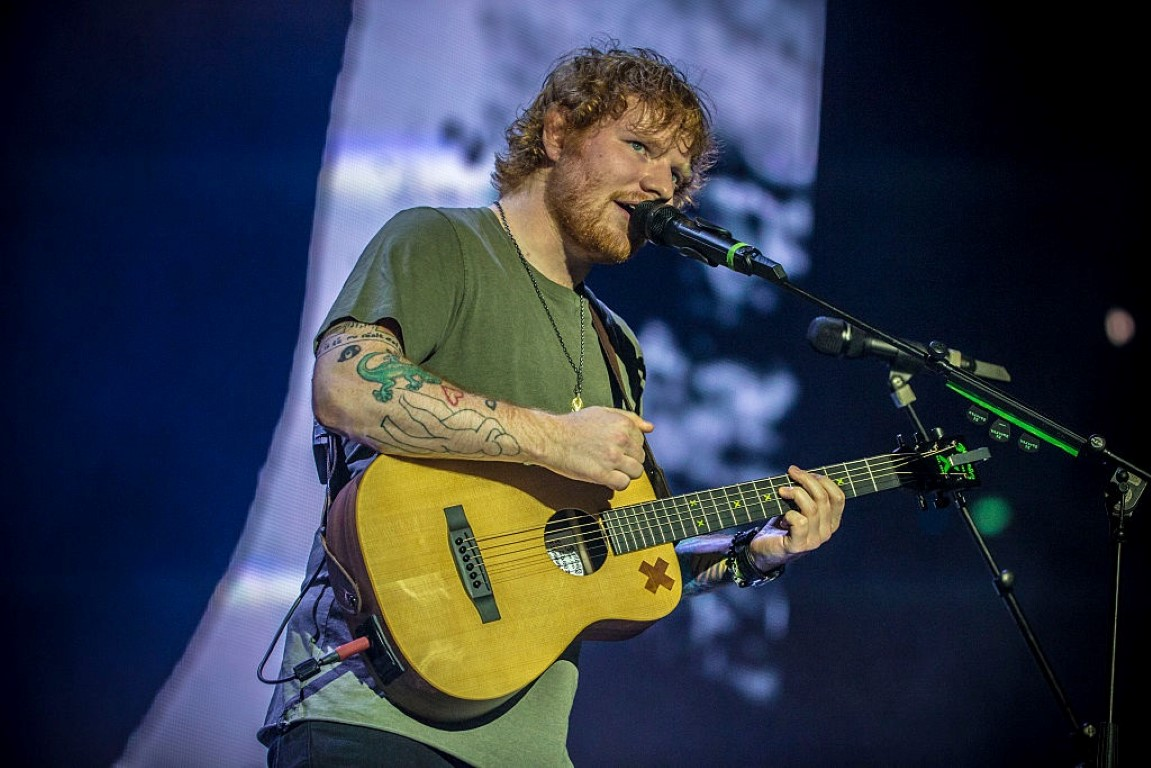 Ed Sheeran will play three concerts in Dunedin next year.