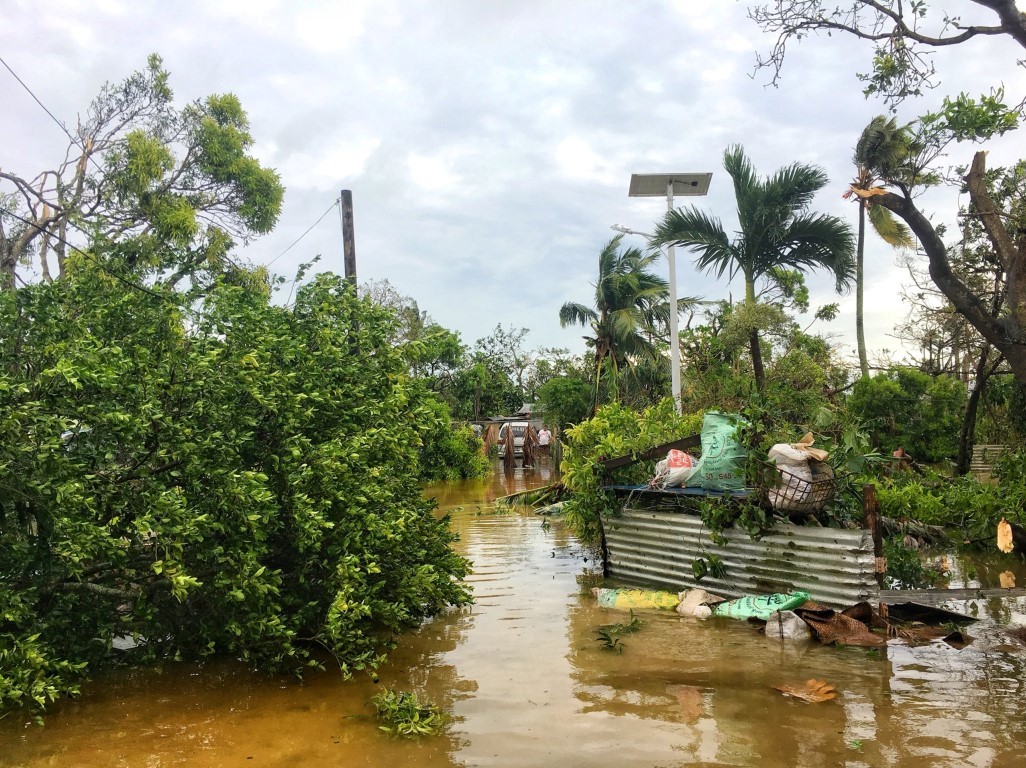 Samoa declares state of disaster over tropical cyclone