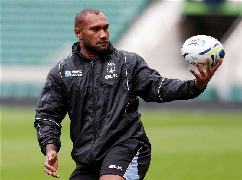 Fijian winger Nemani Nadolo will come up against cousin Tevita Kuridrani when Fiji plays...