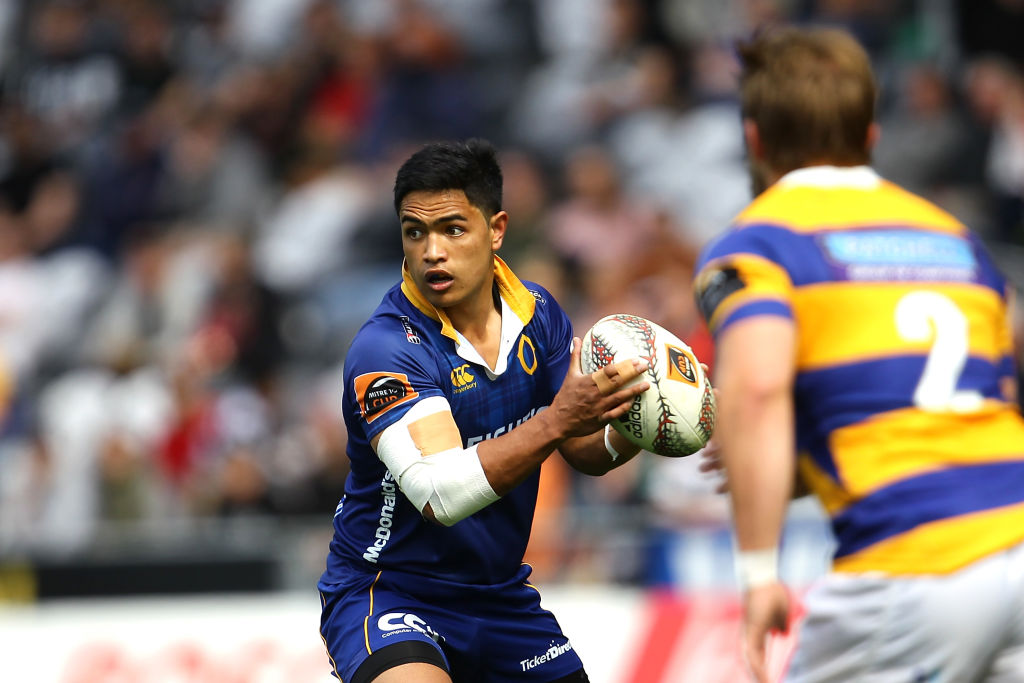 Josh Ioane in action for Otago against Bay of Plenty in Dunedin in October last year. Photo: Getty