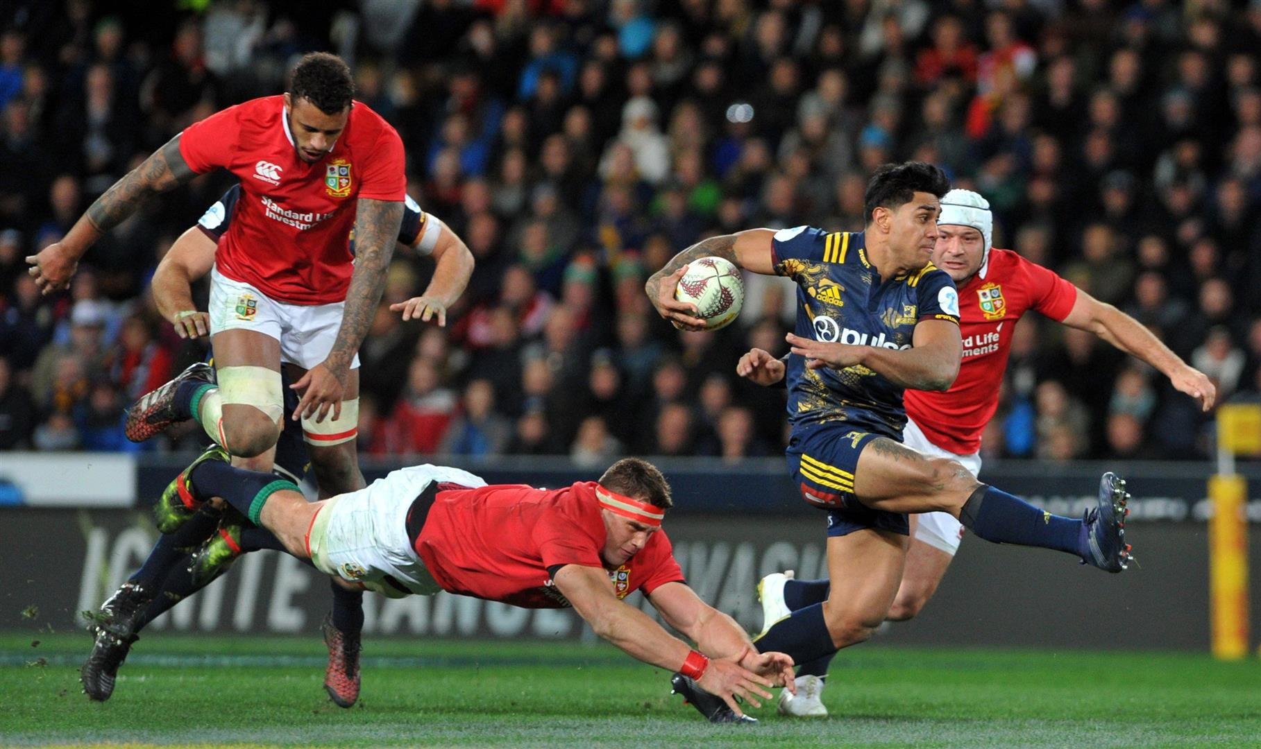 Lions tour drives NZ Rugby's record profit