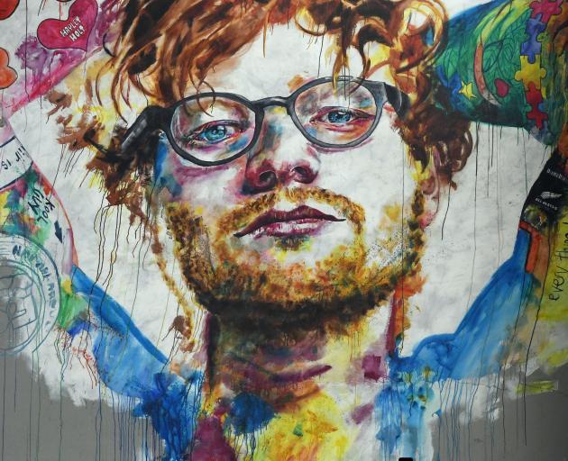 Image result for ed sheeran mural