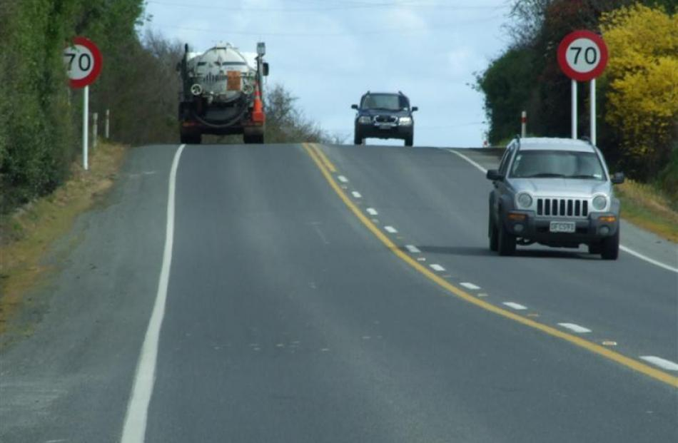The International Transport Forum recommends a 70kmh speed limit on all rural roads in New...