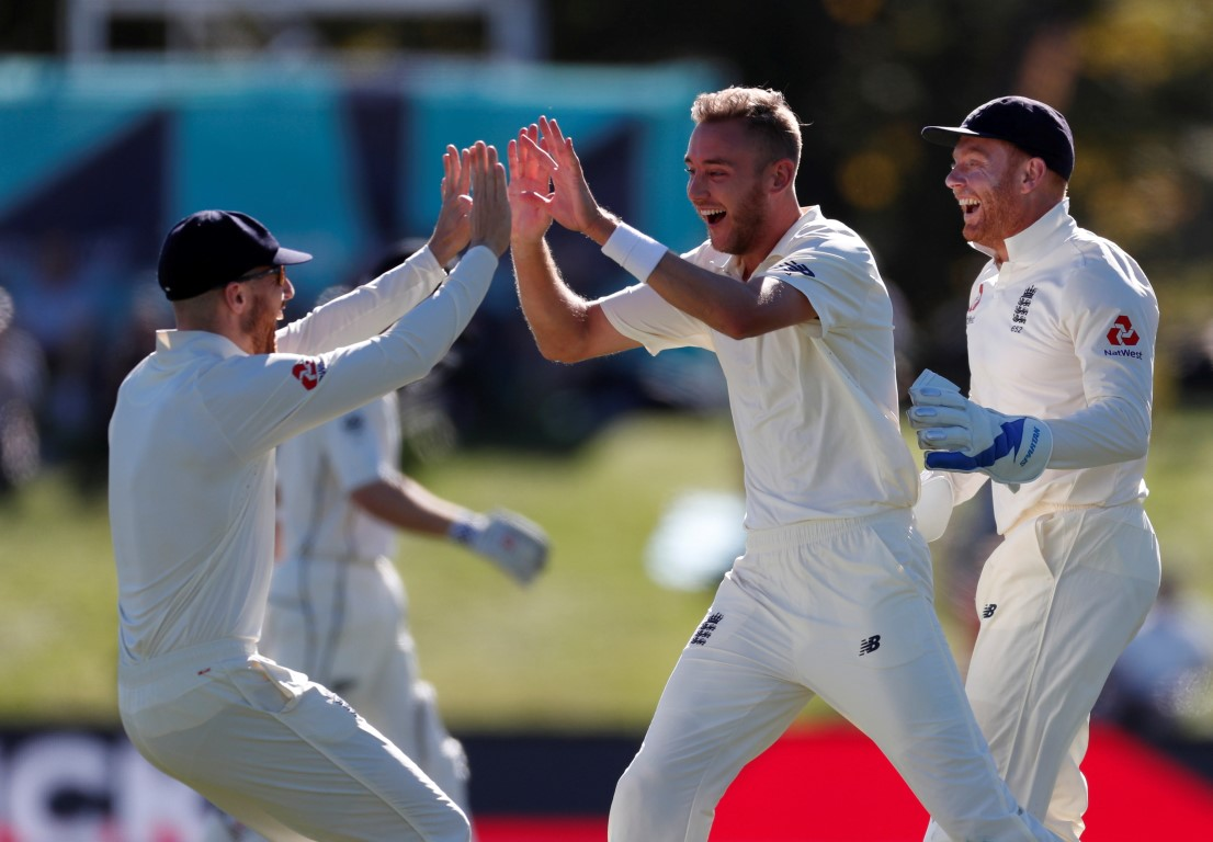 Blackcaps vs England: Second test, day four