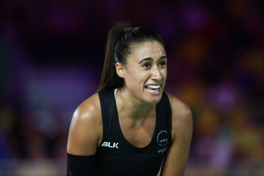 Maria Folau of the Silver Ferns. Photo Getty