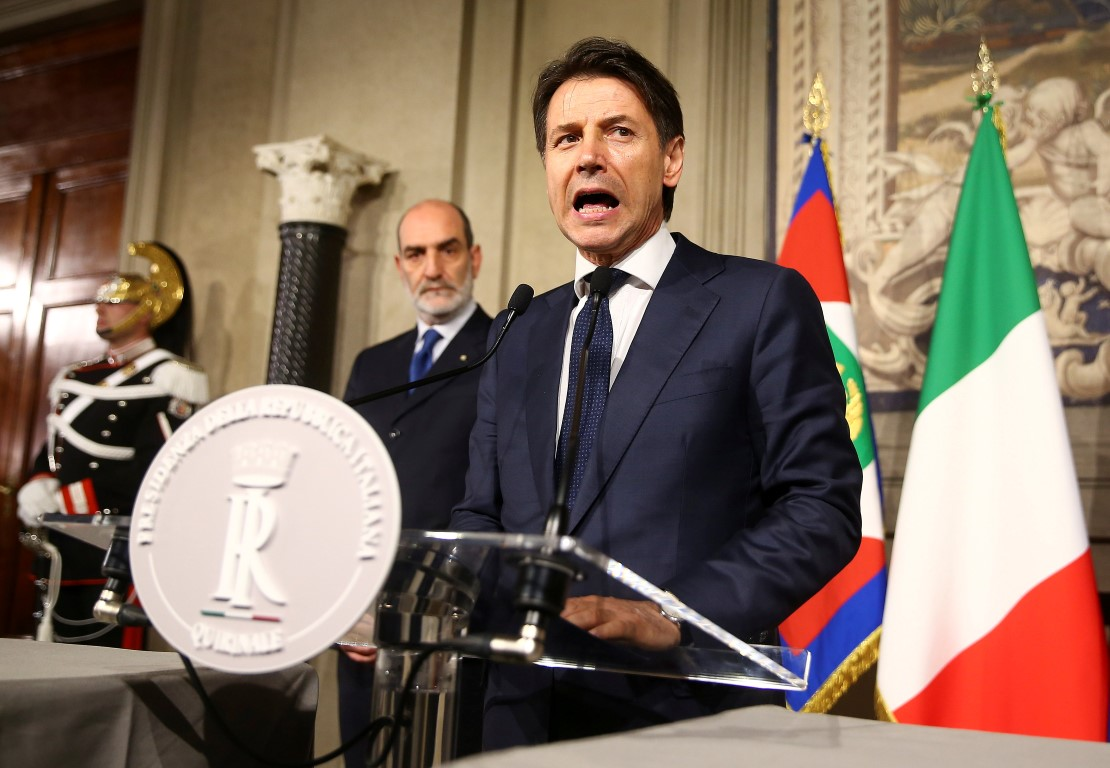 Italy's PM-designate gives up on forming govt, may mean new election