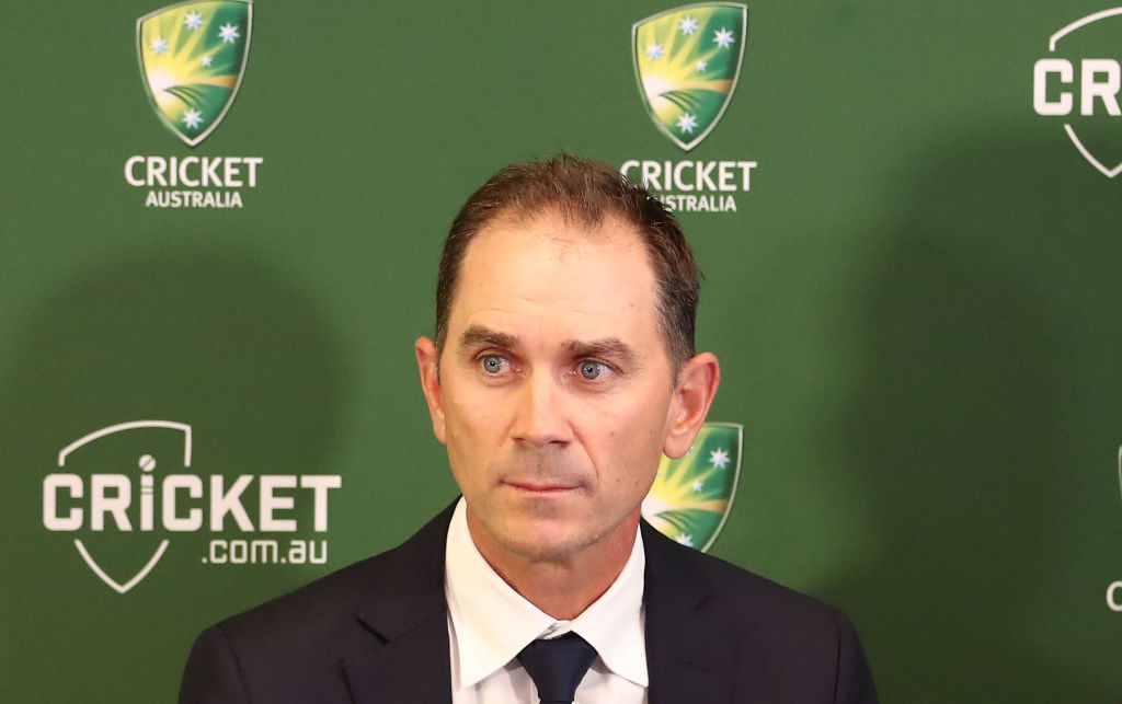 Justin Langer named Australia's head coach