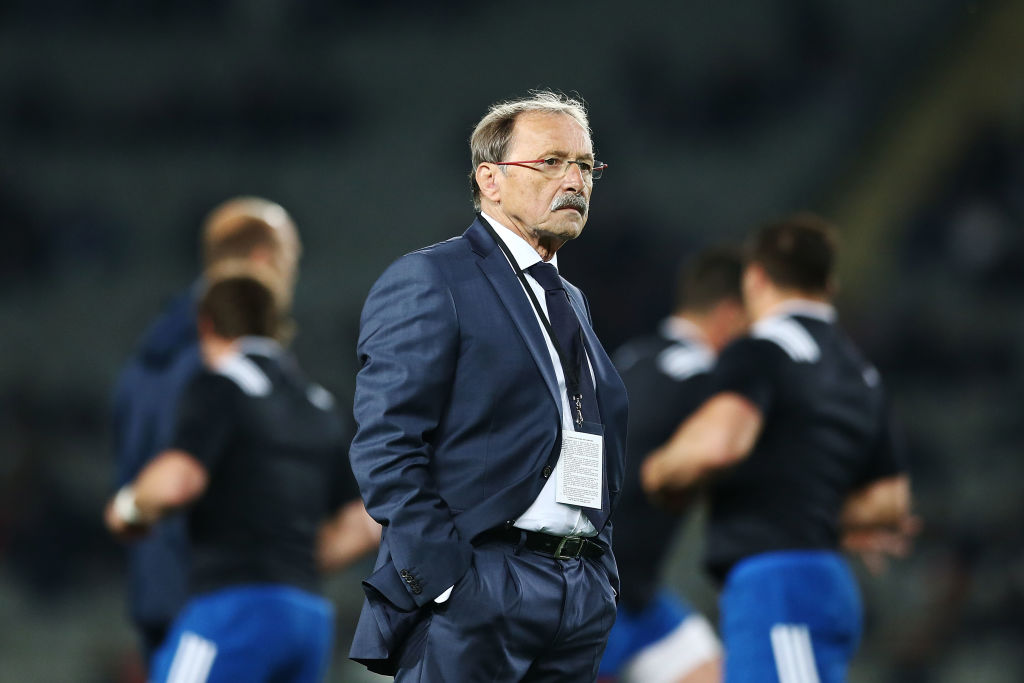 France coach Jacques Brunel. Photo: Getty