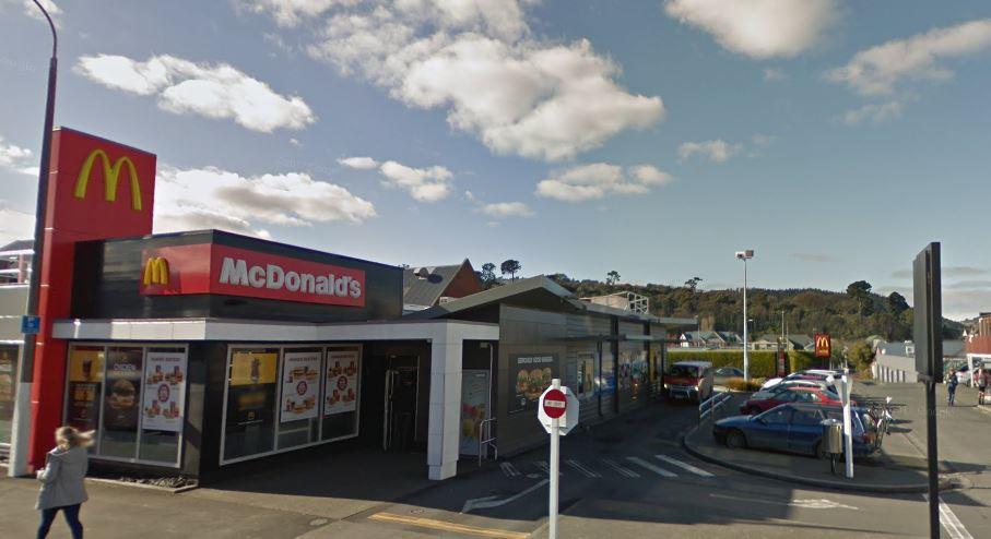 North Dunedin McDonald's. Photo: Google Maps