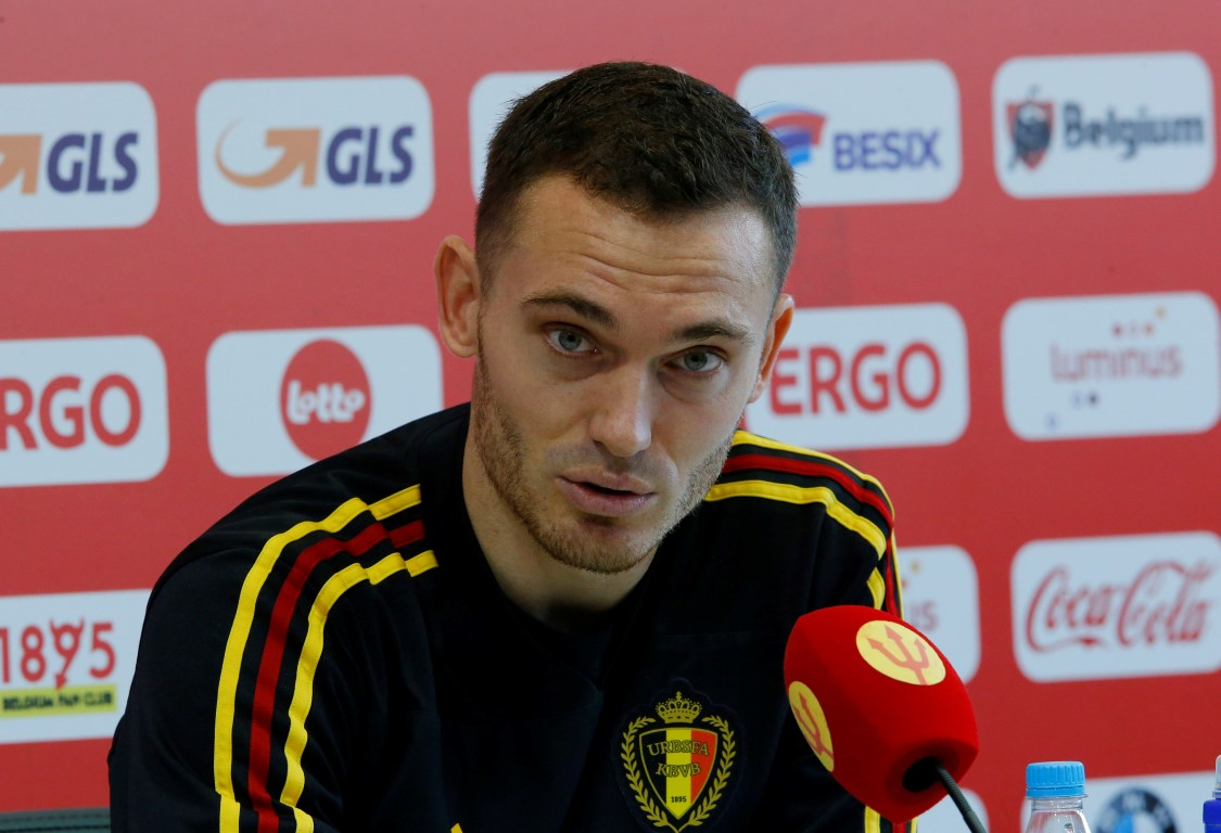Belgium's Thomas Vermaelen. Photo: Reuters