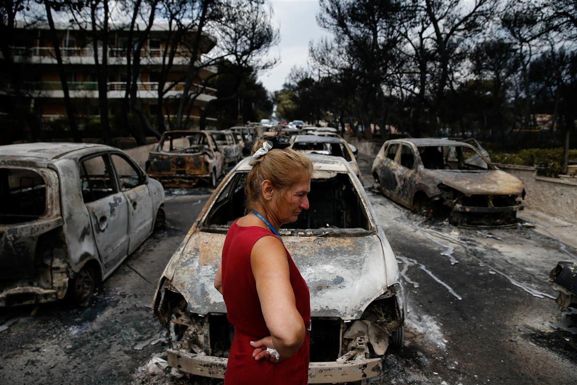 dozens still missing after deadly greek fires | otago daily times