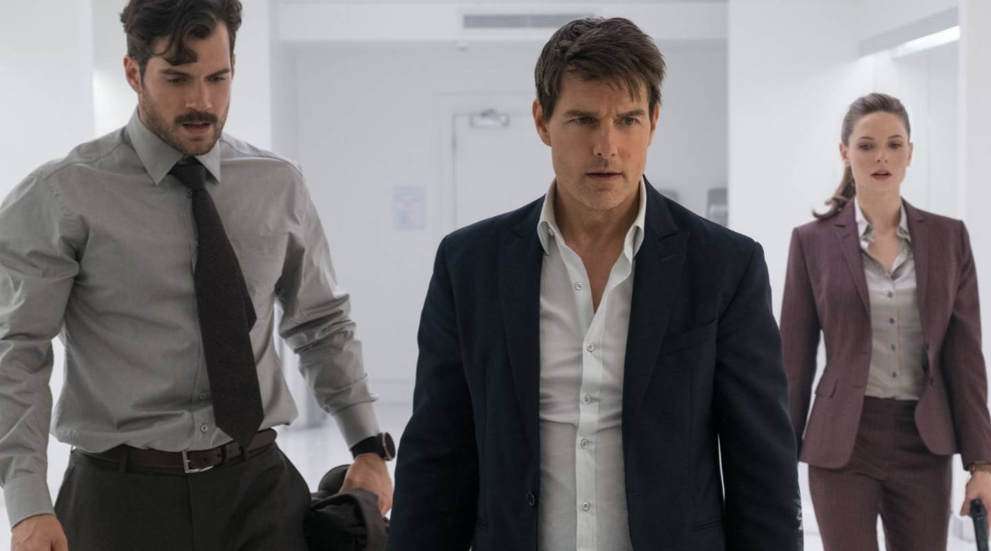 Henry Cavill takes on Tom Cruise in the latest instalment of Mission Impossible. Photo: Supplied...