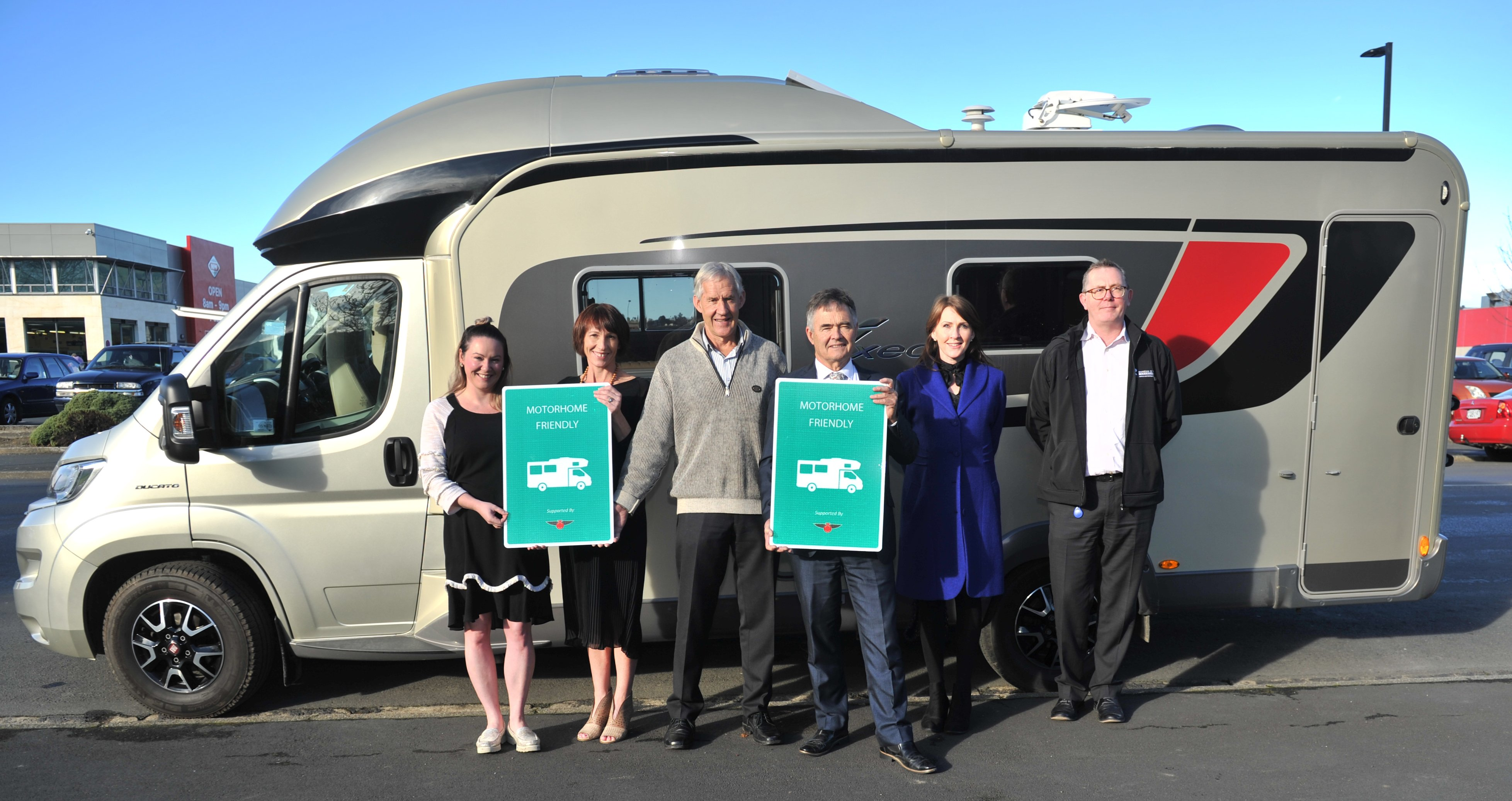 Mosgiel the 'ideal location for motorhome visitors'   Otago Daily