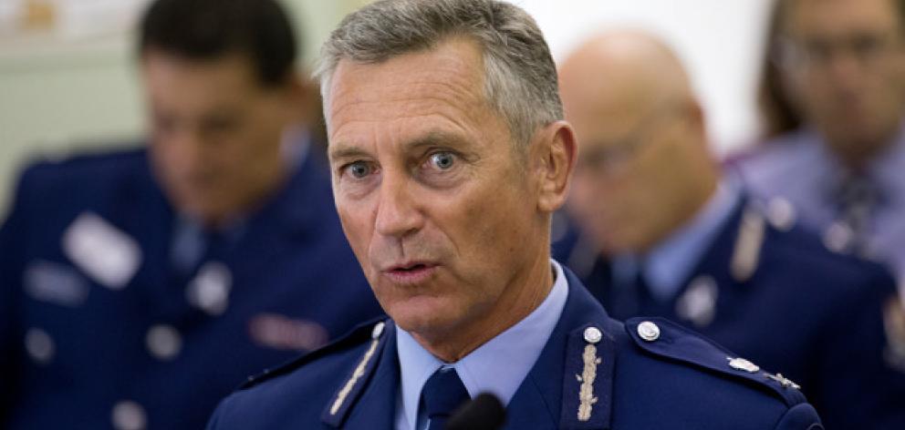 Police Commissioner Mike Bush.