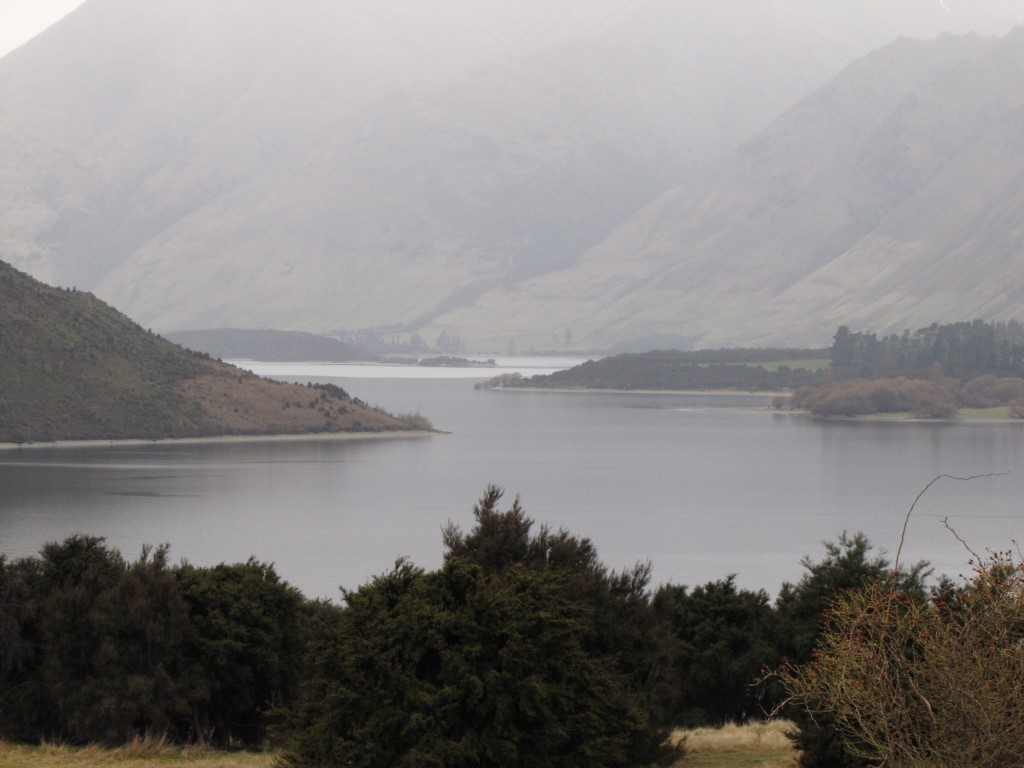 The land is at the northern end of the Peninsula Bay subdivision overlooking Lake Wanaka near the...