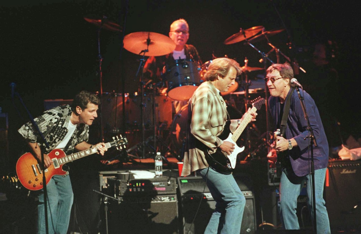 The Eagles in concert in London in 1998. Photo: Reuters