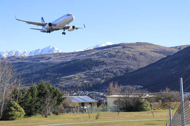 Queenstown Airport. Photo: Scene