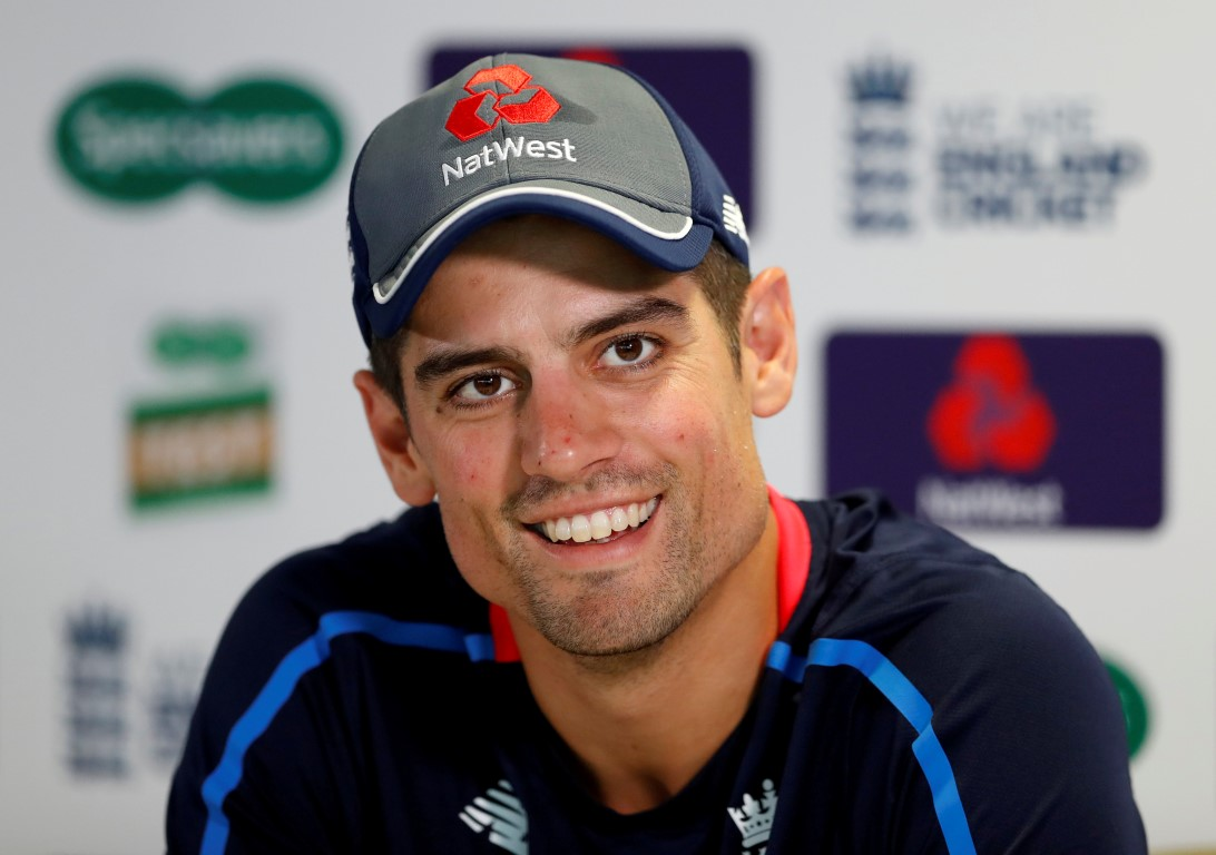 Alistair Cook. Photo: Reuters