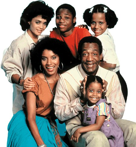 Bill Cosby and The Cosby Show cast. Photo: ODT files
