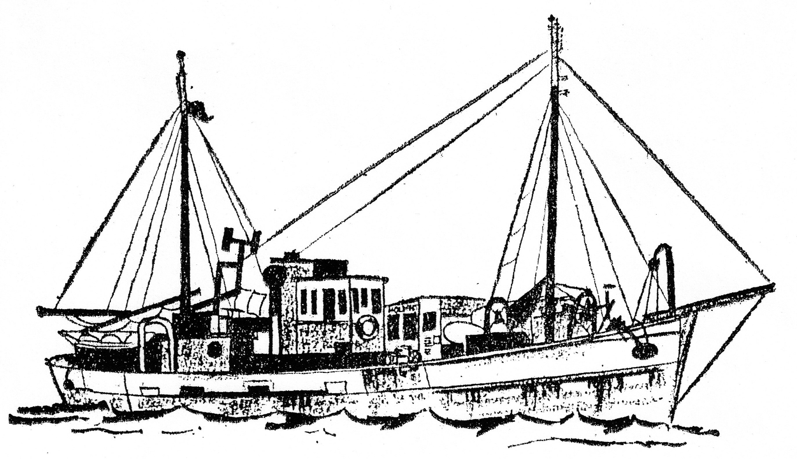 A sketch of the Heather George.
