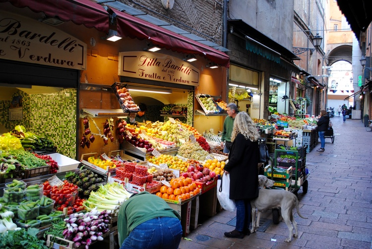 Bologna market – finding hidden gems and experiences is a focus of many touring and independent...