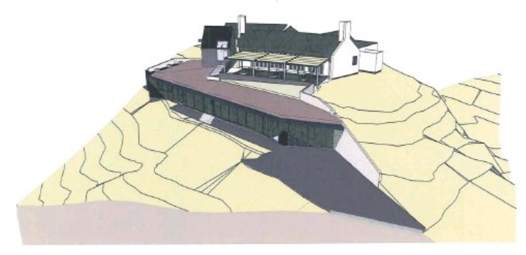 An artist's impression of the expanded Mt Difficulty complex. IMAGE: SUPPLIED