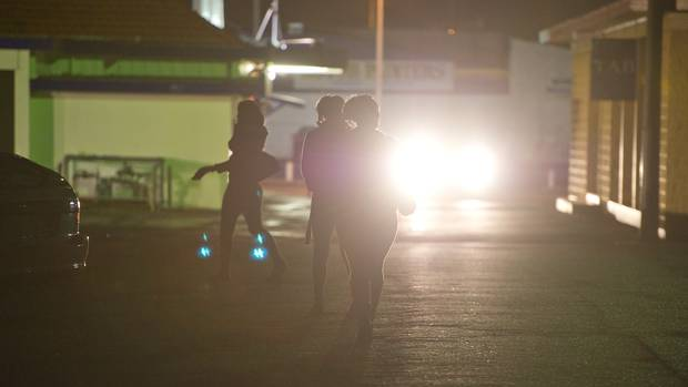 Street prostitution at Hunters Corner in Papatoetoe, Auckland. Photo: NZME